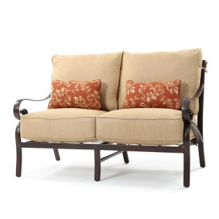 Veracruz outdoor loveseat