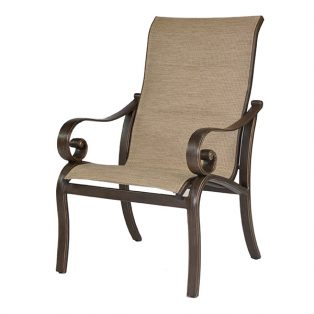 Veracruz sling dining chair