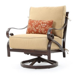Veracruz outdoor swivel rocker lounge chair