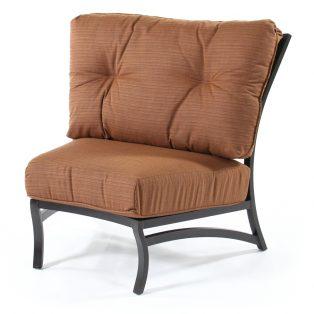 Volare armless club chair