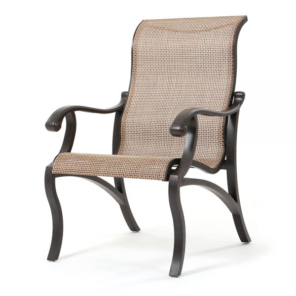 Volare sling dining chair