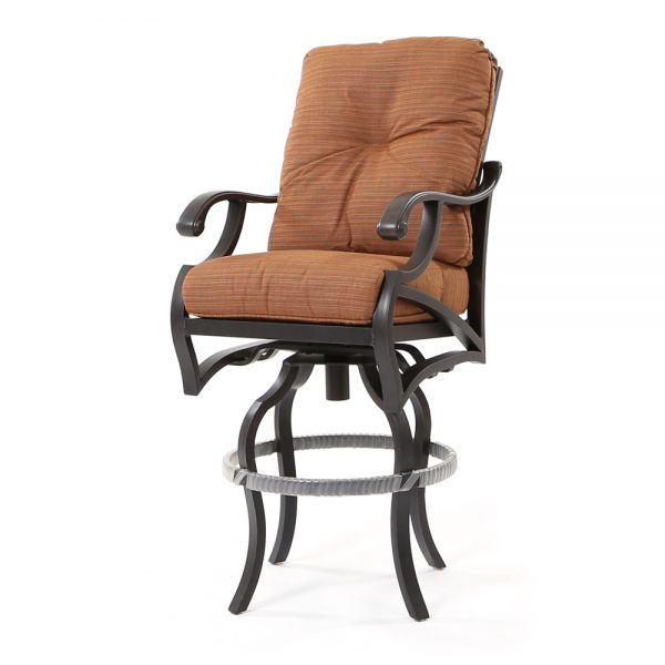 Volare swivel bar stool