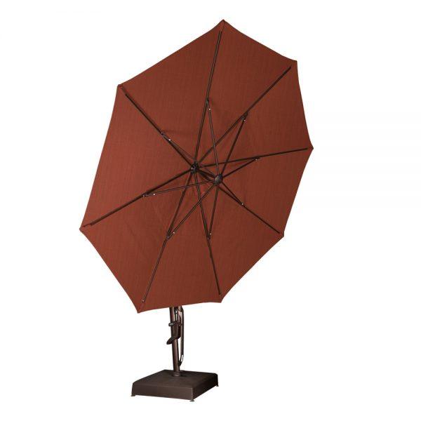 13' cantilever umbrella tilted up