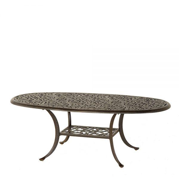 "28"" x 60"" Oval Chateau coffee table"