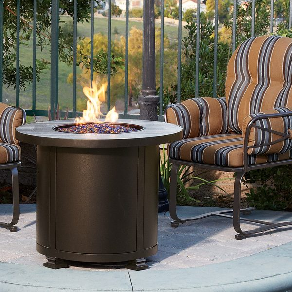 Santorini fire pit from OW Lee