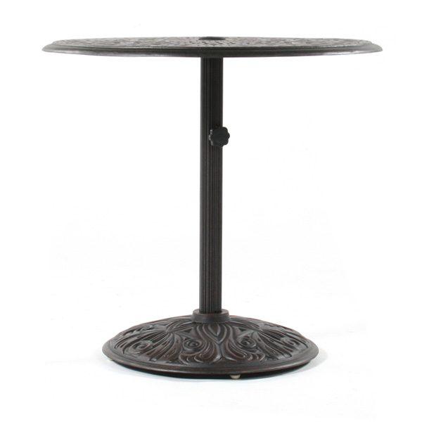 "Hanamint 30"" round Tuscany  pedestal dining table"