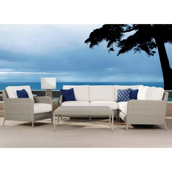 Sunset West wicker sectional furniture