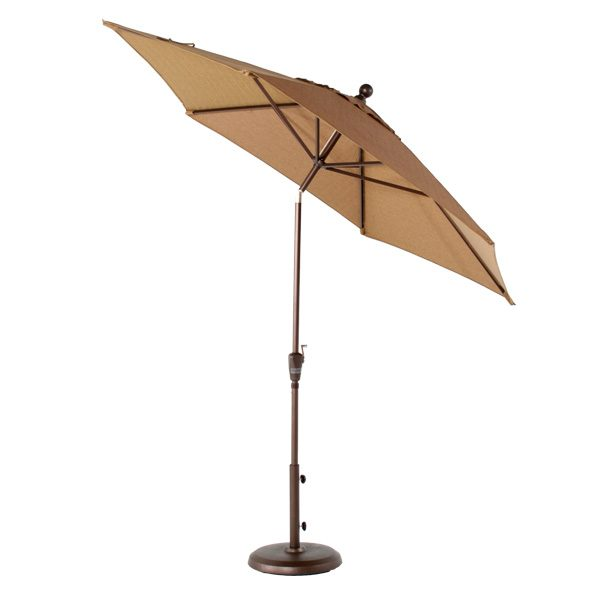 Treasure Garden 9' Market umbrella tilted