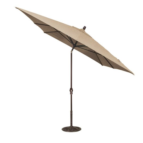 Treasure Garden 8' x 10' auto tilt rectangular market umbrella