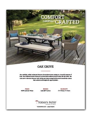 Oak Grove Collection Info Sheet