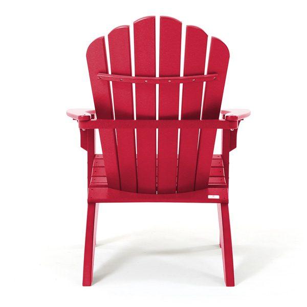 Coastline Casual outdoor Adirondack chair back view