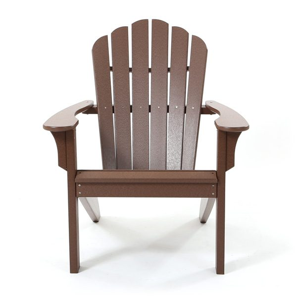 Seaside Casual outdoor Adirondack chair front view