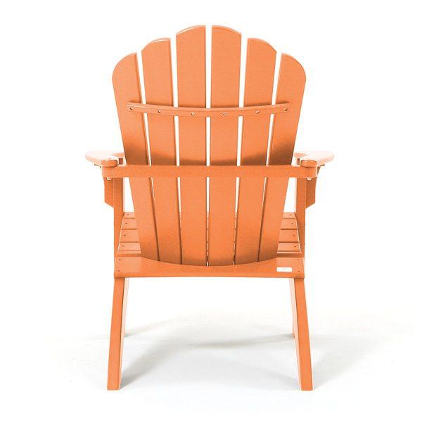 Citrus Adirondack chair back view