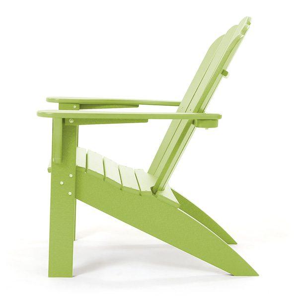 Coastline Casual Adirondack patio chair side view