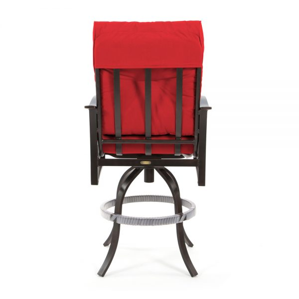 Albany outdoor barstool back view