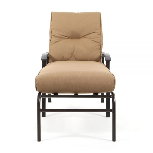 Mallin Albany outdoor chaise lounge front view