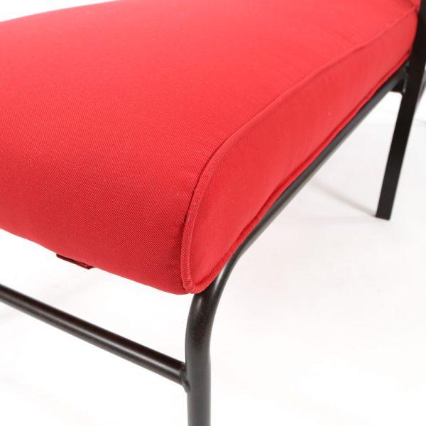 Mallin Sunbrella Flagship Ruby cushion detail