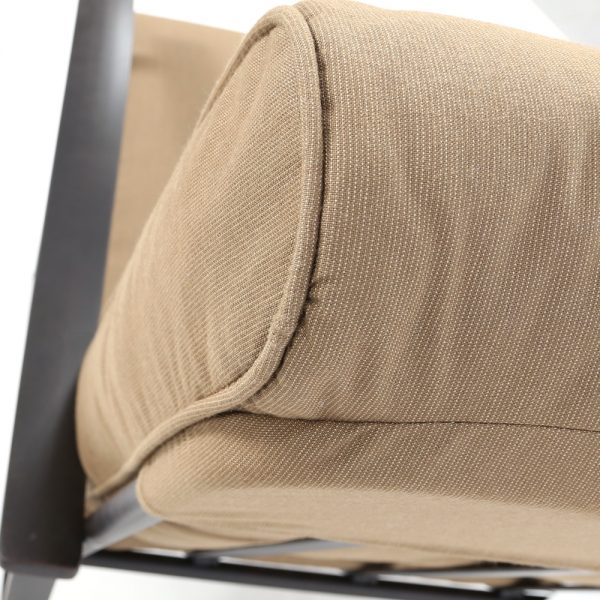 Mallin Sunbrella Spectrum Caribou cushions
