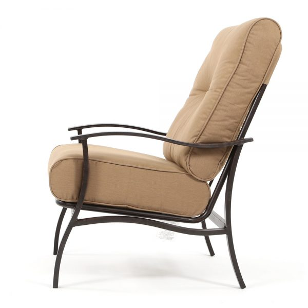 Albany patio club chair side view