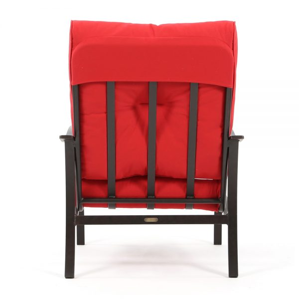 Mallin Albany club chair back view
