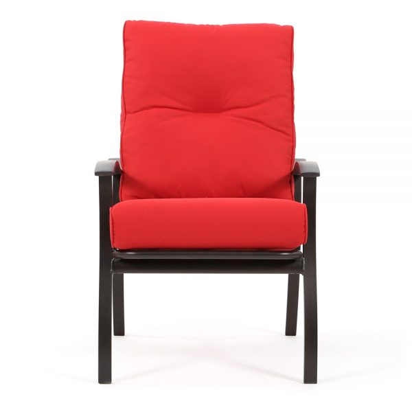Mallin Albany outdoor dining chair front view
