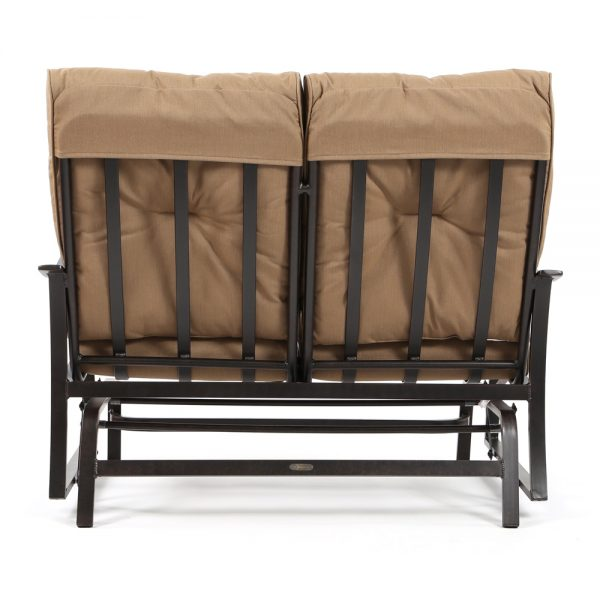 Albany patio double glider back view