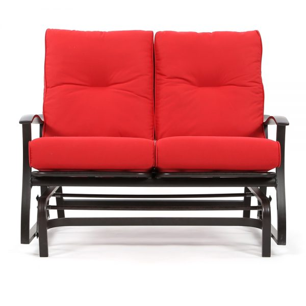 Mallin Albany outdoor double glider front view