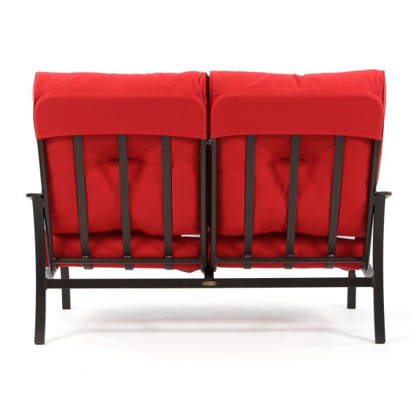 Albany outdoor loveseat back view