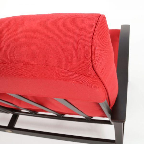Mallin Sunbrella Flagship Ruby fabric detail