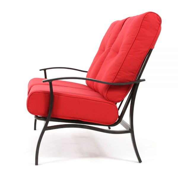 Albany patio loveseat side view
