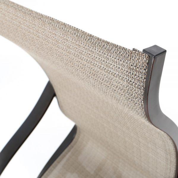 Mallin Albany Elevation Stone sling fabric detail