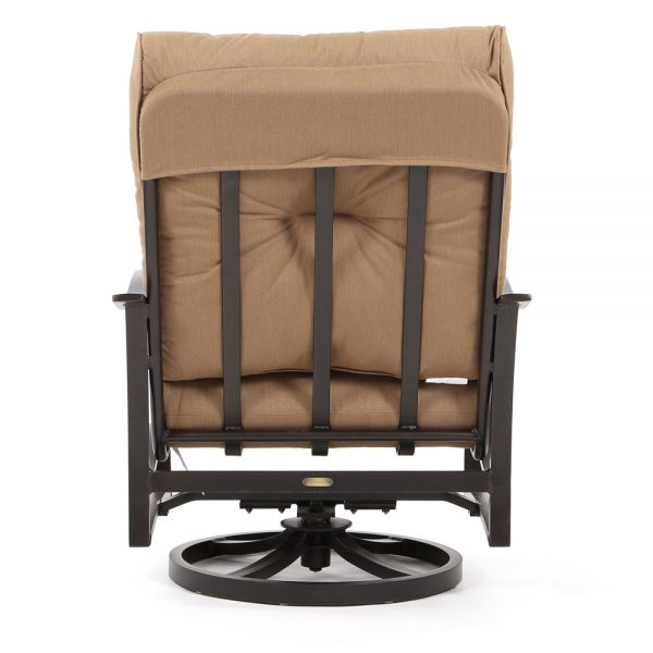 Mallin Albany spring club chair back view