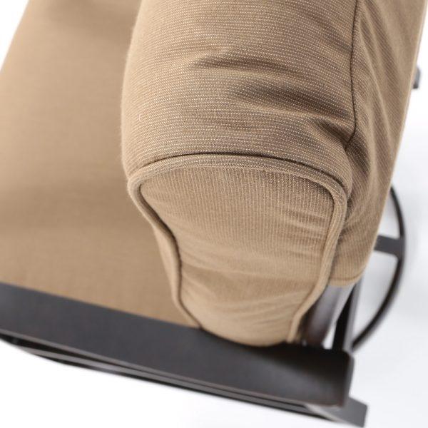 Mallin Sunbrella Spectrum Caribou outdoor fabric detail