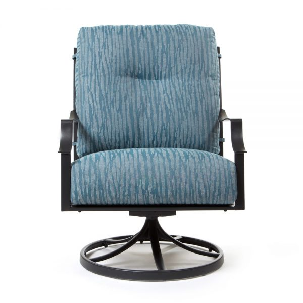 Altura patio swivel lounge chair front view