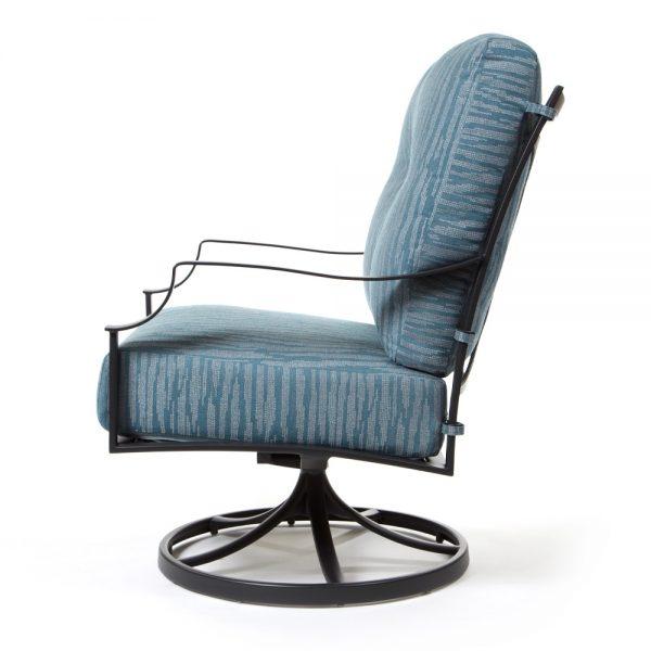 Altura swivel rocker club chair side view
