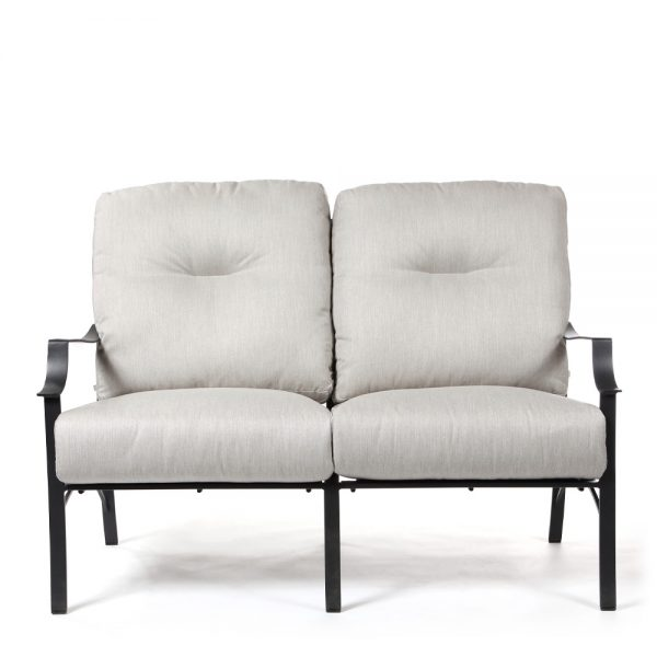 Altura outdoor love seat front view