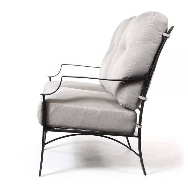 Altura patio loveseat side view