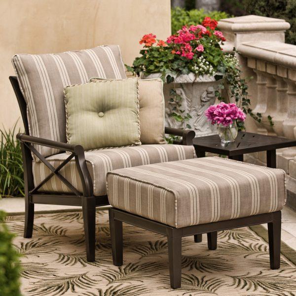 Woodard Andover aluminum dining chair
