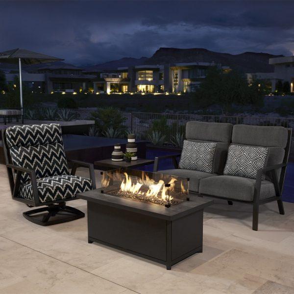 Aris aluminum patio furniture