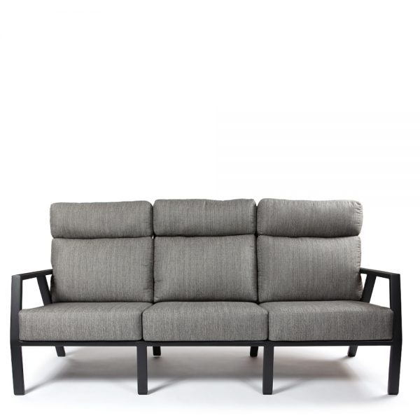 Aris outdoor sofa front view