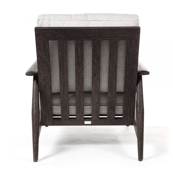 Ebel Augusta patio lounge chair back view