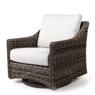 Avallon swivel glider club chair