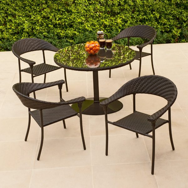 Woodard wicker patio furniture
