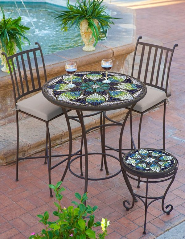KNF Belcarra mosaic table top