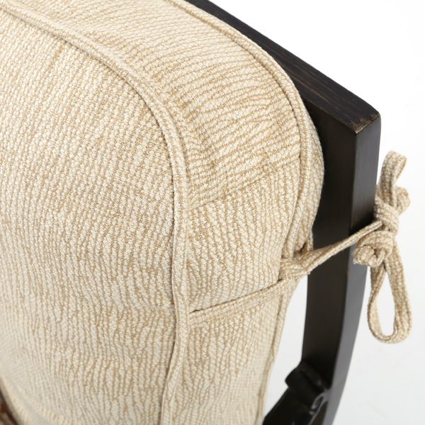 Pride Bellagio Creswell Barley Sunbrella fabric detail