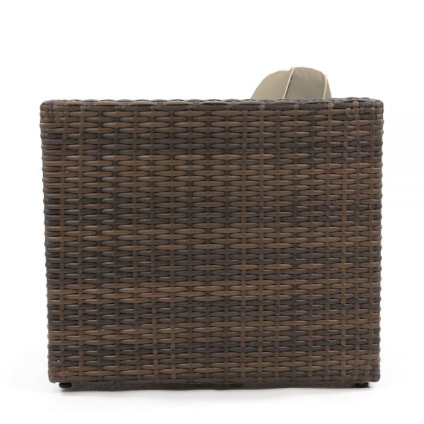 Wicker patio club chair - Bellanova collection