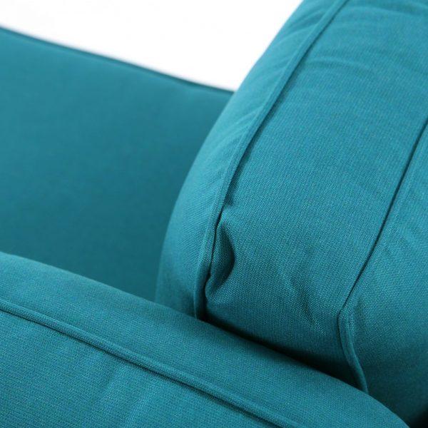 North Cape Sunbrella Spectrum Peacock fabric