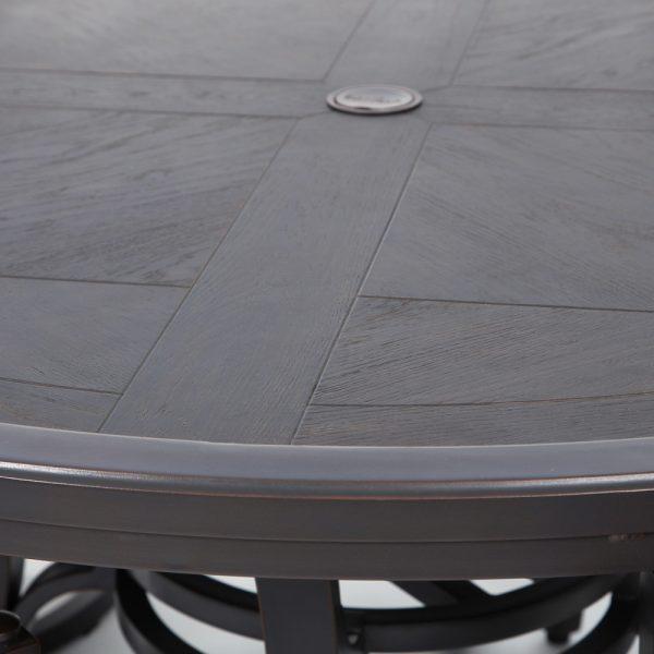 Bellevue Copperhead powder coat finish detail