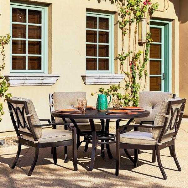 Sunvilla Bellevue aluminum dining furniture