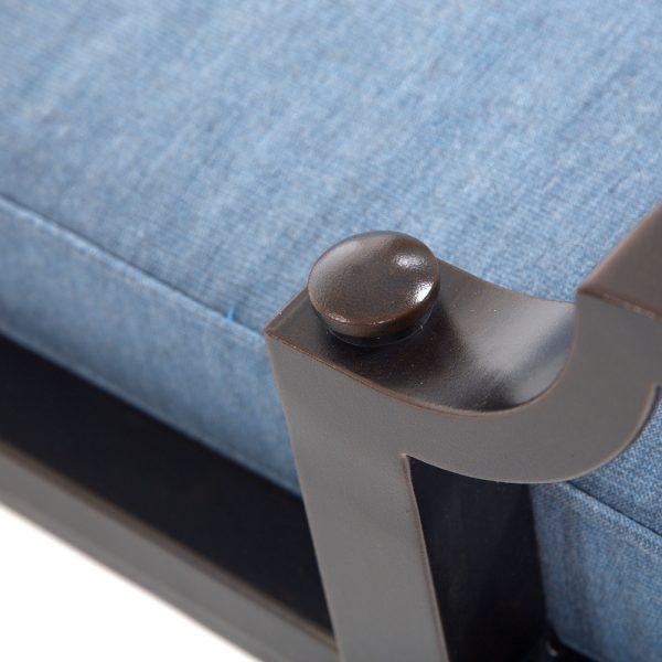Sunvilla Bellevue aluminum chaise lounge with a Copperhead powder coat finish